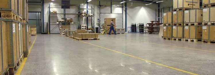 Industrial Concrete Polishing | Polished Concrete Contractors