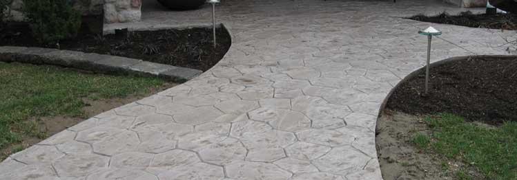 existing concrete
